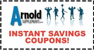 Arnold Supplements Coupons
