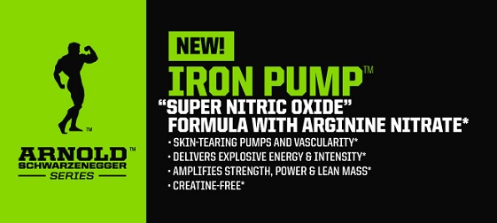 Arnold Iron Pump Supplement