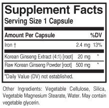 /solgar korean ginseng fp label.