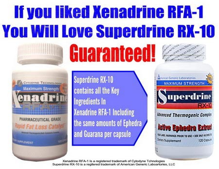 Original Xenadrine vs. Superdrine