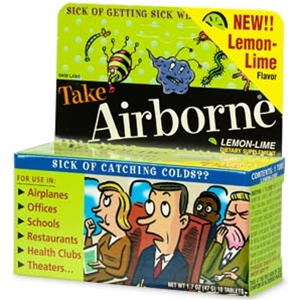 Airborne Cold Medication, 10 Effervescent Tablets