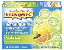 Emergen-C Immune Defense Drink Mix 36 Packets