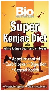 Bio Nutrition Super Konjac Diet Pills - 90 Caps