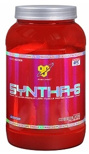 BSN Syntha-6 Extended Release Protein, 2.91 lbs.