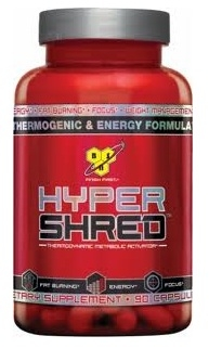 Hyper Shred by BSN - 90 Caps