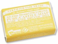 Dr. Bronner's Citrus Bar Soap 5 OZ.