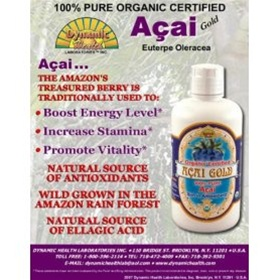 Dynamic Health Acai Gold 100% Pure Acai Berry Juice