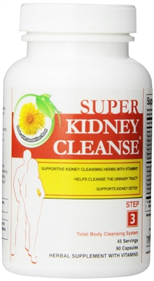 Super Kidney Cleanse from Health Plus, 90 caps