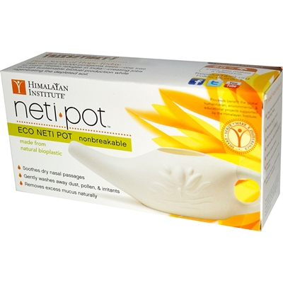 Plastic Neti Nasal Pot from the Himalayan Institute