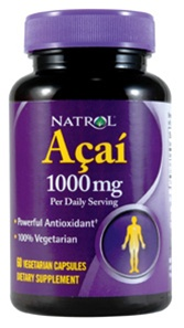 Natrol Acai Berry 1000mg 60 caps