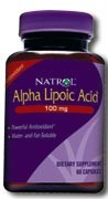 Natrol Alpha Lipoic Acid 100mg, 100 caps