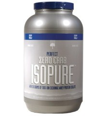 Nature's Best Ispoure Zero Carb Whey Protein Powder, 3lbs