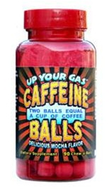 Up Your Gas Caffeine Balls 90 chewables