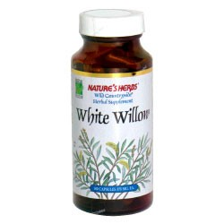 Nature's Herbs White Willow Bark, 100 caps