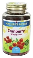 Nature's Herbs Cranberry Fruit, 100 caps