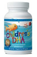 Nordic Naturals Children's DHA 250mg, 180 chewable soft gels