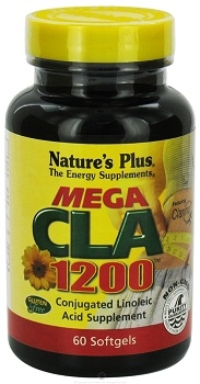 Natures Plus Mega CLA 1200 Maximum Strength 60 softgels