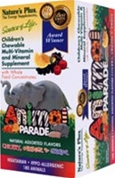 Nature's Plus Animal Parade Children's Chewable Multivitamin