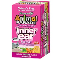 Nature's Plus Animal Parade Inner Ear Support 90 Chewables