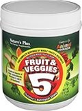 Nature's Plus Animal Parade Fruit & Veggies 5 Children's Shake 0.57 lbs