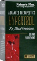 Nature's Plus Hypertrol Rx Blood Pressure 60 Tablets