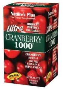 Nature's Plus Ultra Cranberry 1000 - 60 Sustained Release Tablets
