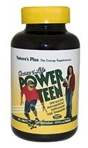 Power Teen Multivitamins for Teenagers - Source of Life - 90 or 180 Tablets