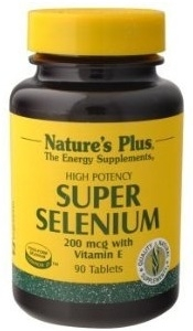 Nature's Plus Super Selenium Complex with Vitamin E - 90 Tablets