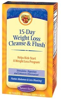15 Day Cleanse and Flush Weight Loss from Nature's Secret 60 Tabs