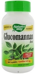 Nature's Way Glucomannan Konjac Fiber