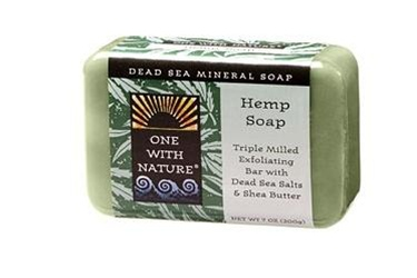 One With Nature Hemp Soap Bar 7oz