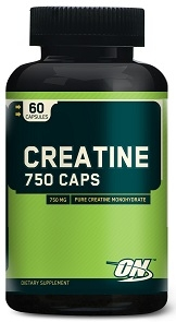 Optimum Nutrition Creatine 750 Caps, 60
