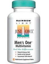 Rainbow Light Just Once Men's One Energy Multivitamin 90 Tabs