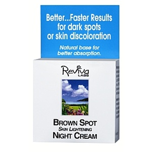 Reviva Brown Spot Skin Lightening Night Cream 1 oz.