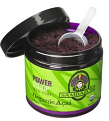 Sambazon Acai Power Scoop Pure Organic Acai Powder Drink Mix