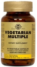 Solgar Vegetarian Multiple Multivitamin Caps