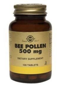 Solgar Bee Pollen 500 mg - 100 Tablets