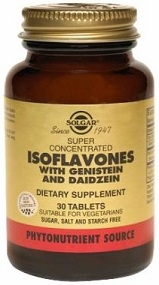 Solgar Isoflavones - 30, 60, or 120 Tablets