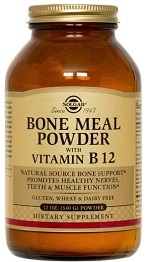 Solgar Bone Meal Powder 12 oz.