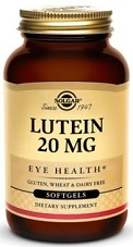 Solgar Lutein 20 mg - 60 Softgels