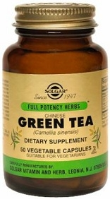Solgar Chinese Green Tea FP 50 Vegicaps