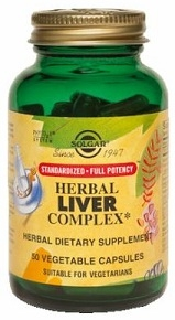 Solgar Herbal Liver Complex SFP 50 Vegicaps