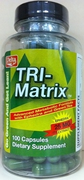 Tri-Matrix Diet Pills - 100 Caps