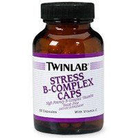 Twinlab Stress B Complex with Vitamin C, 250 caps