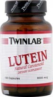 Twinlab Lutein 6mg, 100 caps