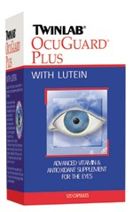 Twinlab OcuGuard Plus with Lutein, 120 caps