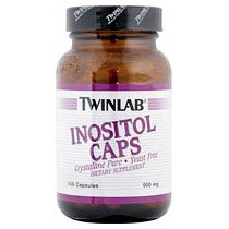 Twinlab Inositol Caps 500mg, 100 caps