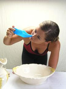 Plastic Neti Pot Demo