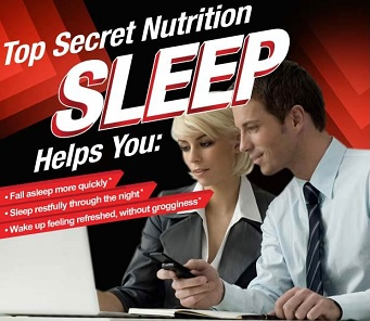 top secret Sleep Formula Tabs