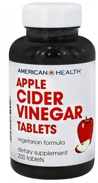 American Health Apple Cider Vinegar - 200 Tablets | Buy